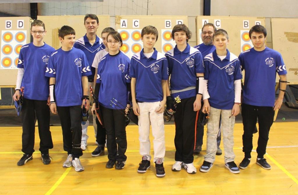 Équipe des jeunes de Longwy en 2014