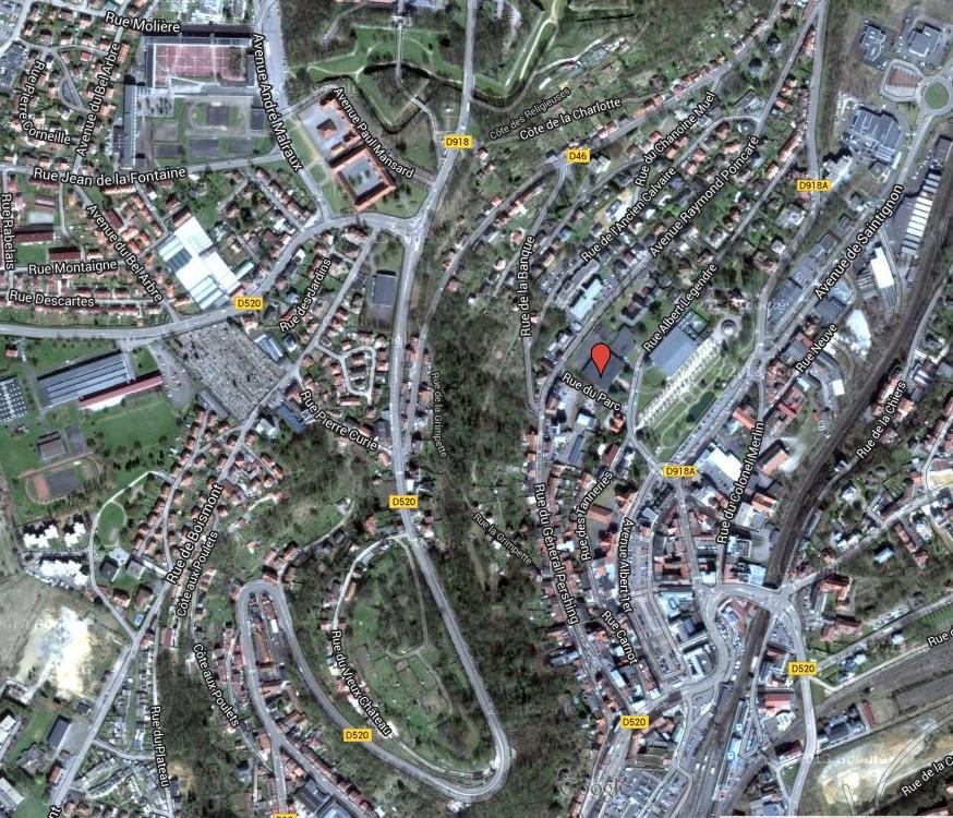 Salle de concours de Longwy--bas GPS : 49.517925, 5.766834