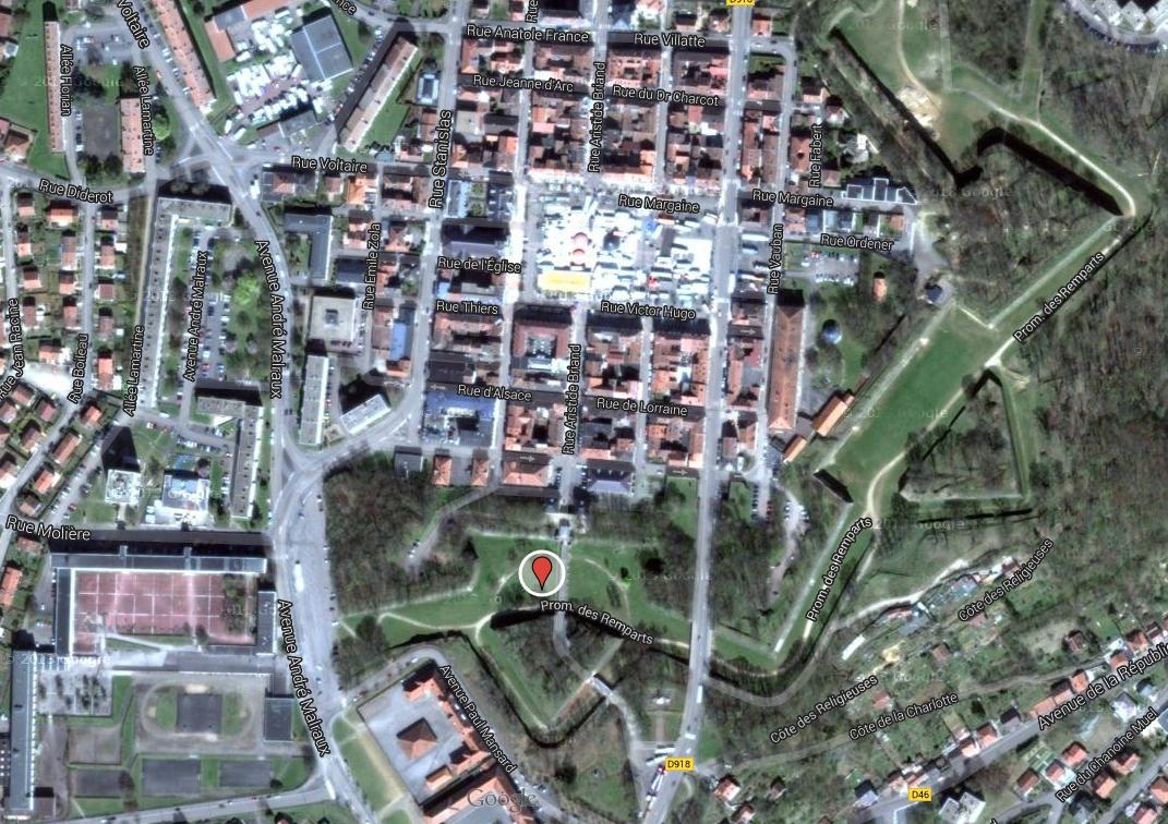 Lieu de concours : remparts Vauban de Longwy GPS : 49.521850, 5.762563